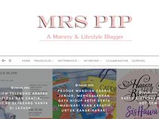 Blog dah pasang header baru; tema glitter pink gitu!