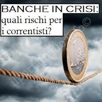 banca commissariata o in crisi: rischi per conti conti, azioni e obbligazioni