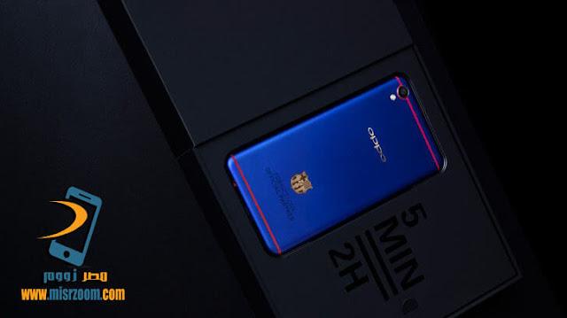 أوبو تطلق نسخة جديدة من هاتفها  Oppo F1 Plus بإسم Oppo F1 Plus FC Barcelona