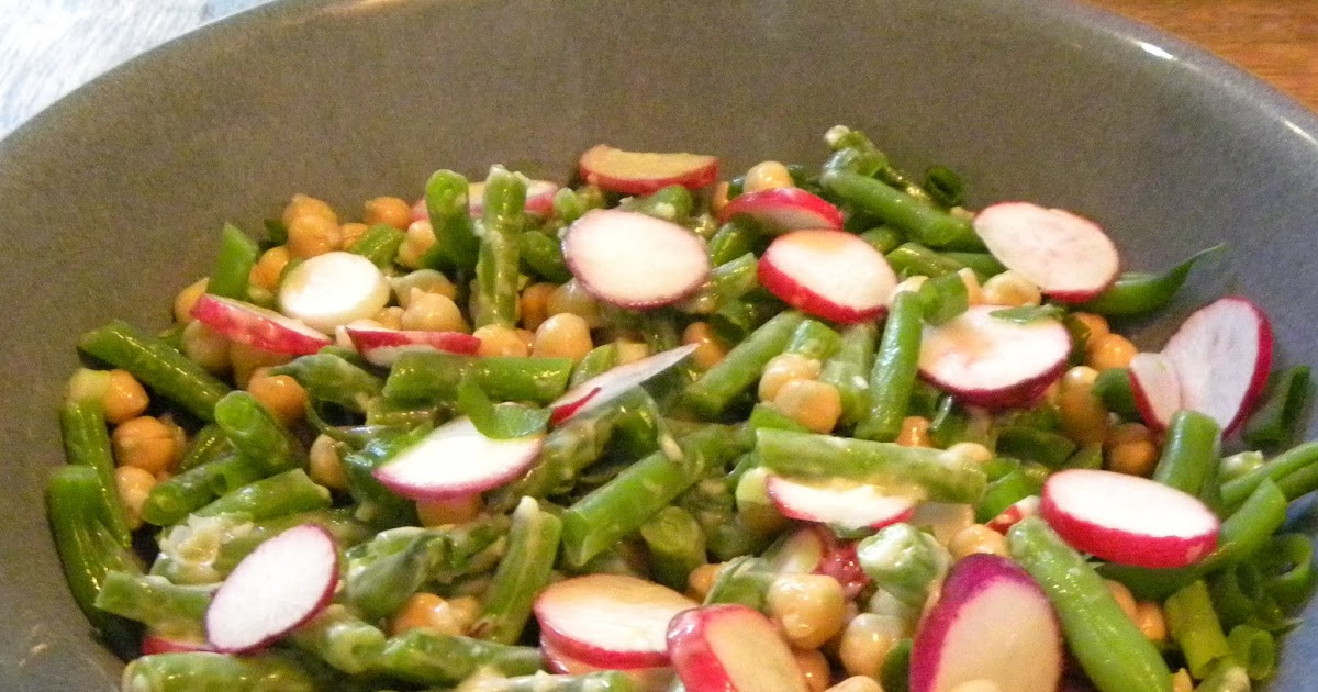 Cook's Cache: Chickpea and Green Bean Salad