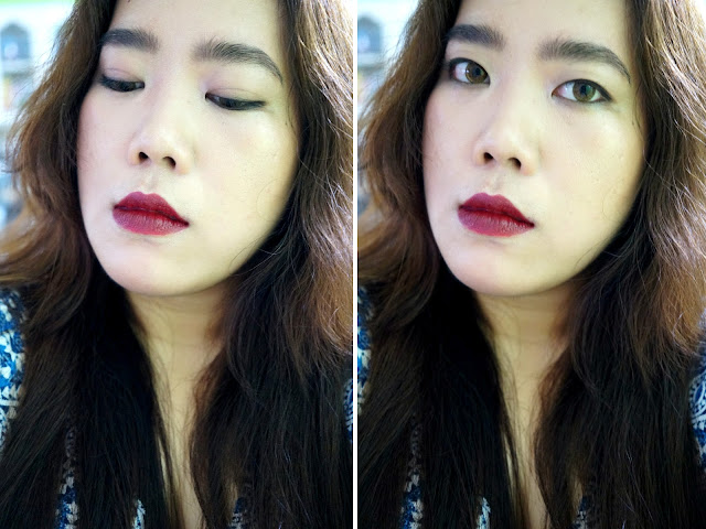 #LeapDay2016: Bordeaux, Burgundy Lips | FOTD