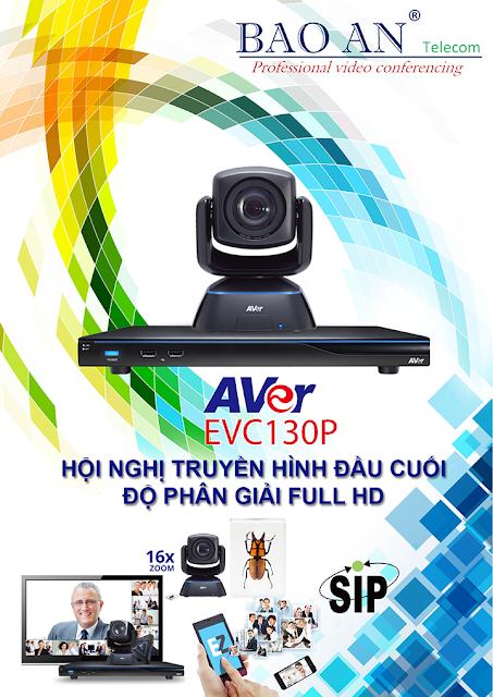 Thiết bị hội nghị truyền hình AVer EVC130P
