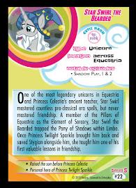 MLP Star Swirl the Bearded Series 5 Trading Card