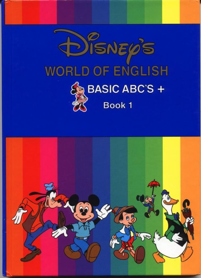 Book and DVD 1: Disney's World of English Basic ABC's.
