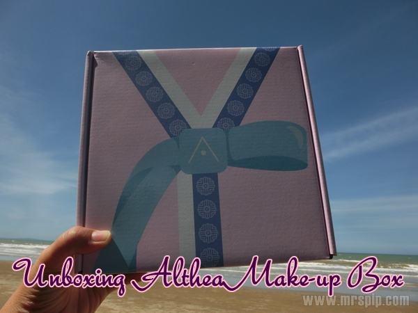 Unboxing Althea Make-up Box