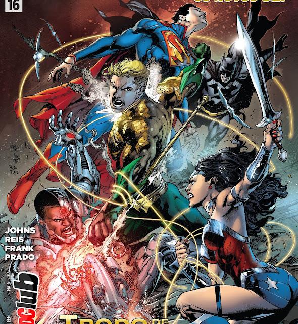 Maratona Novos 52 - Universo Liga da Justiça Parte 5