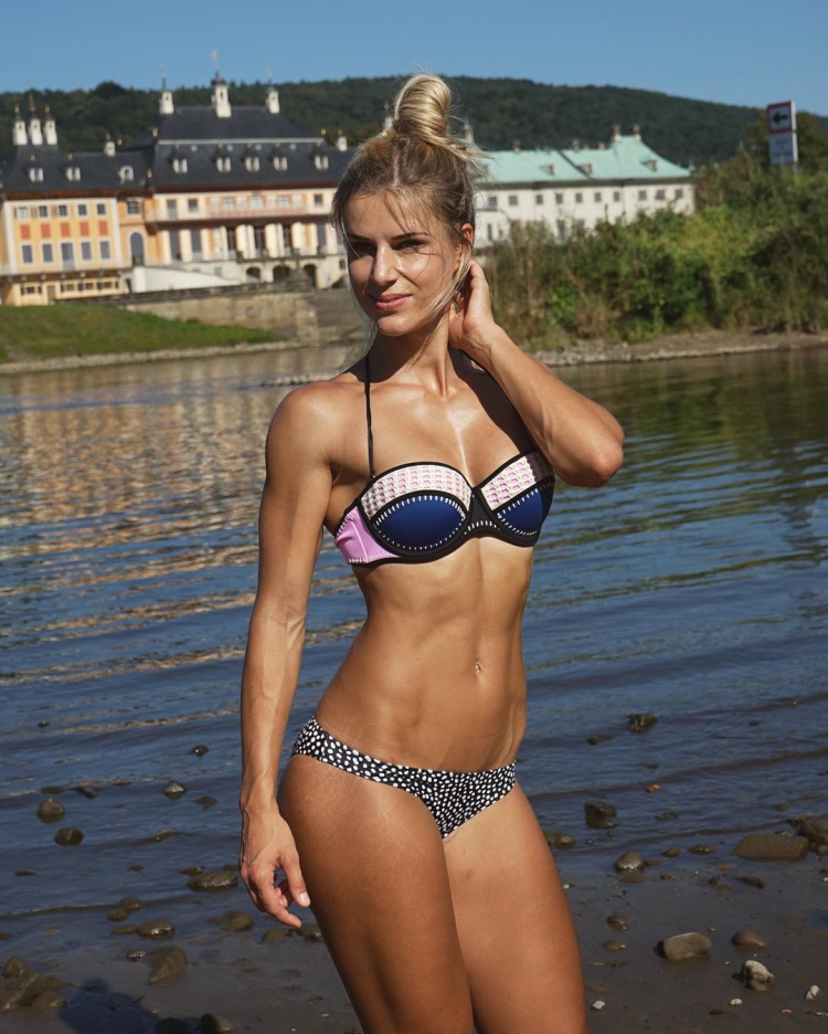 German Fitness Model Adrienne Koleszar