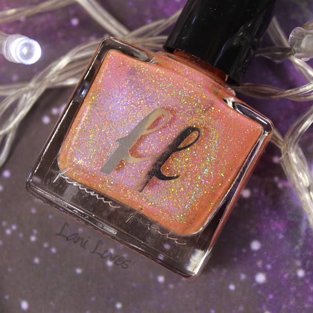 Femme Fatale Cosmetics Poisoned Peach Nail Polish Swatches & Review