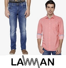 Lawman Men's Clothing – Flat 50% Off @ Shoppers Stop
