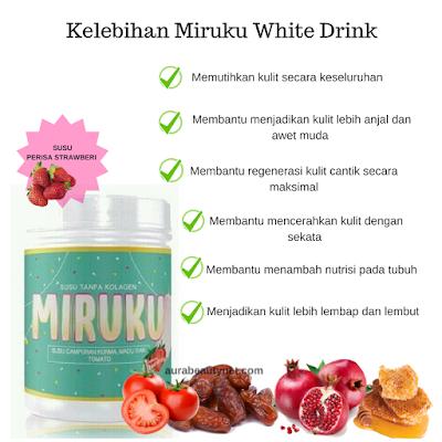 Klebihan Miruku White Milk