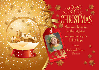 Beautiful Christmas Greeting Card Messages for Friends and Families