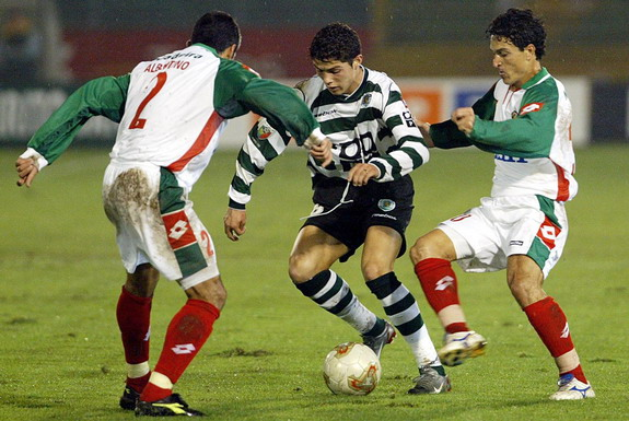 Cristiano Ronaldo developed as a youth at Sporting Lisbon before making his debut aged 17
