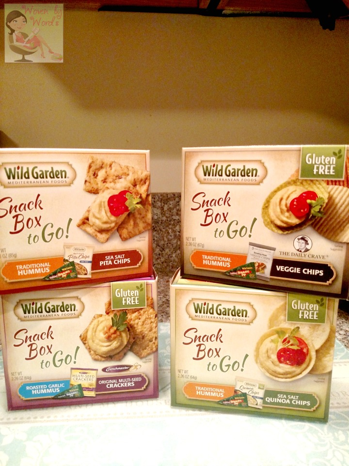 Woven by Words: Snacks on the Go with Wild Garden [ad]