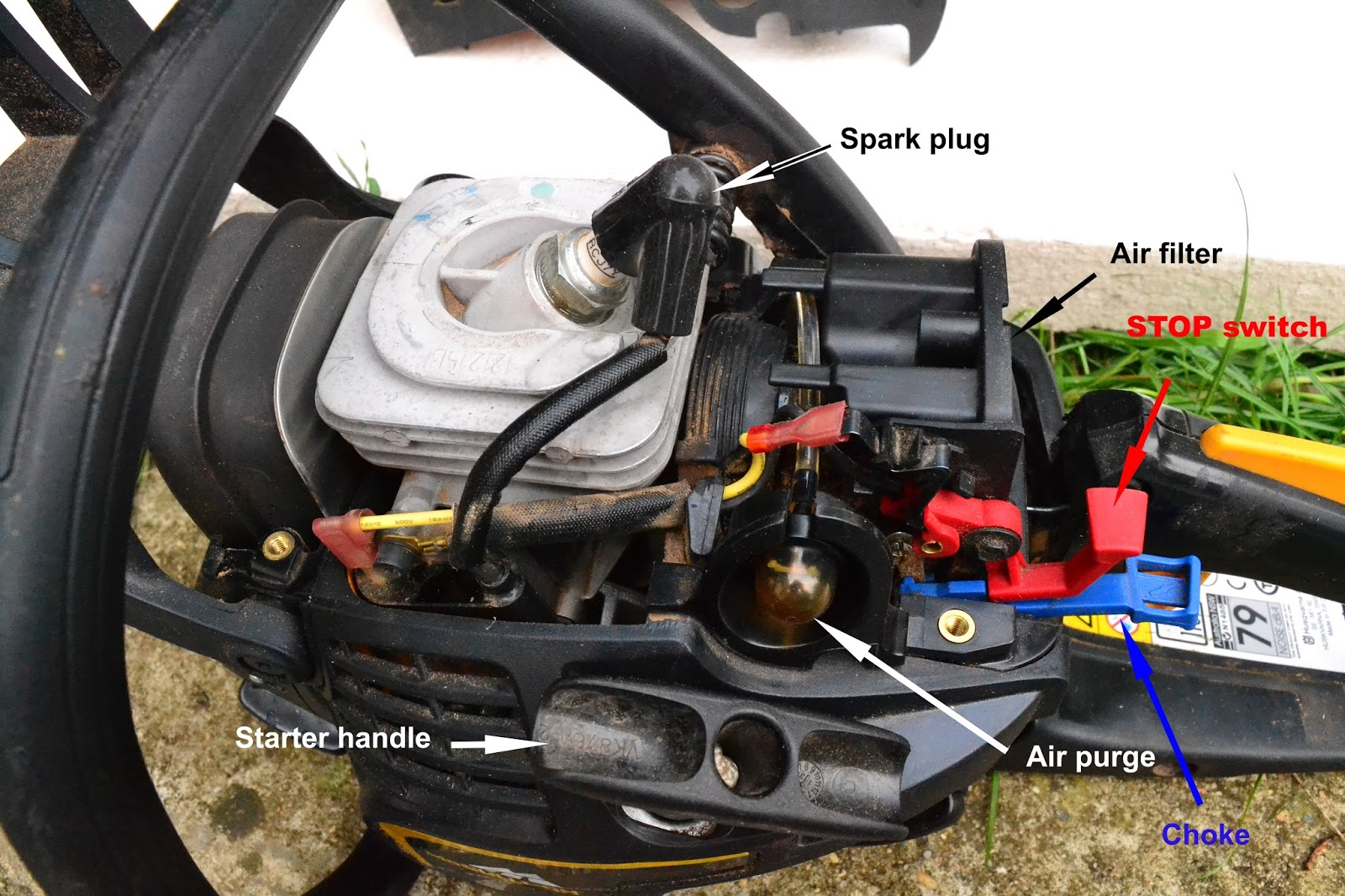 medium resolution of main components under the cover note not all parts are listed