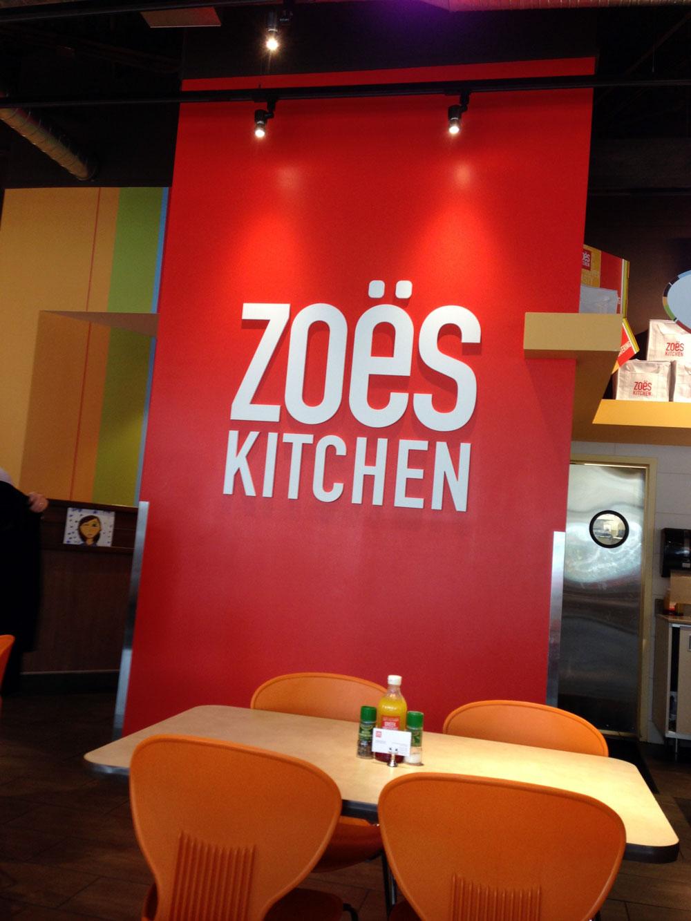 Independent Restaurant Review: Zoe's Kitchen - Dunwoody GA