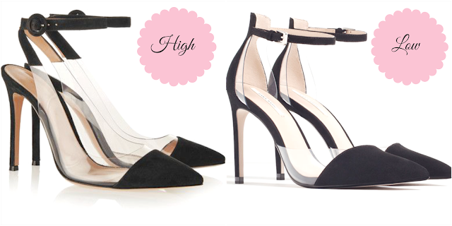 Ioanna's Notebook - High vs. Low - Gianvito Rossi PVC Plexi pumps
