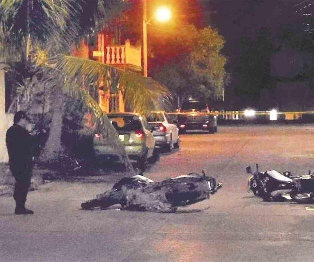 Cartel del Golfo embosca a policías en Ciudad Madero, Sicarios huyen