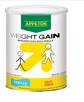 Appeton Weight Gain Adult Vanilla - 900 gr