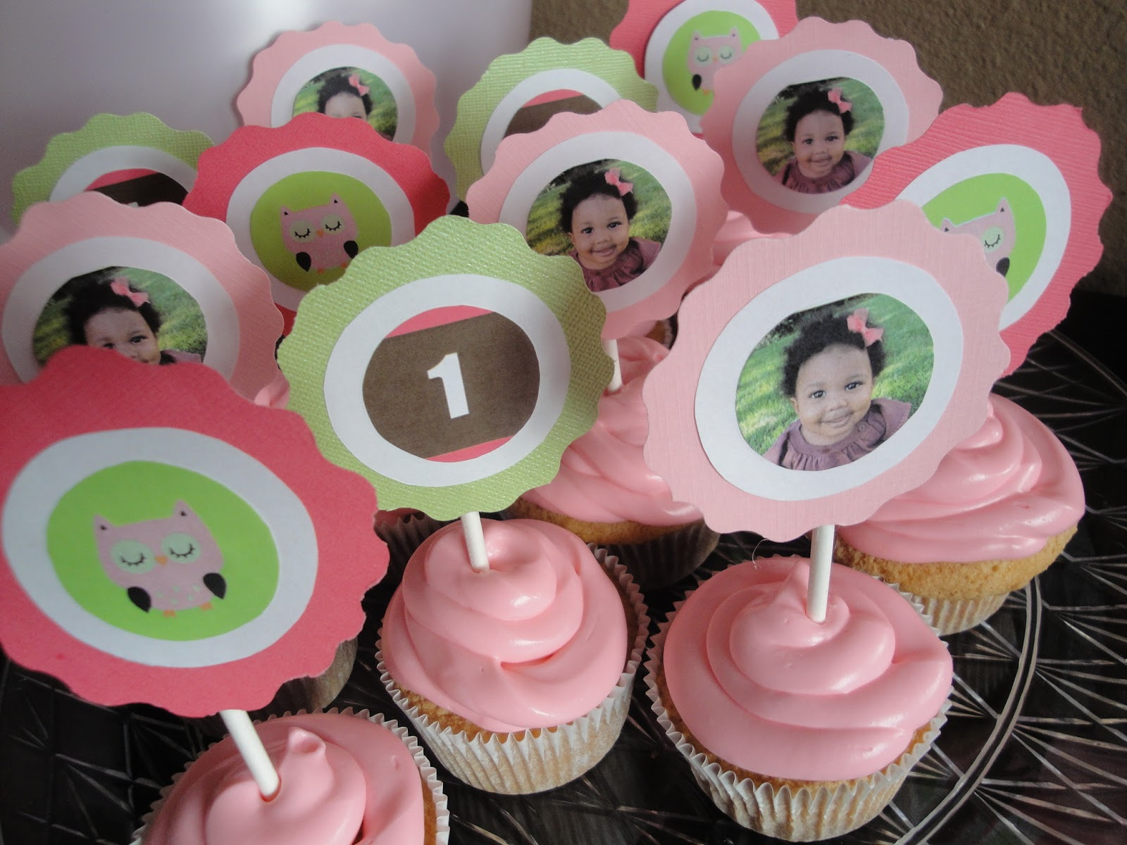 Girls First Birthday Party Ideas: Pink And Green Owl Theme