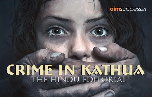 Crime in Kathua: The Hindu Editorial