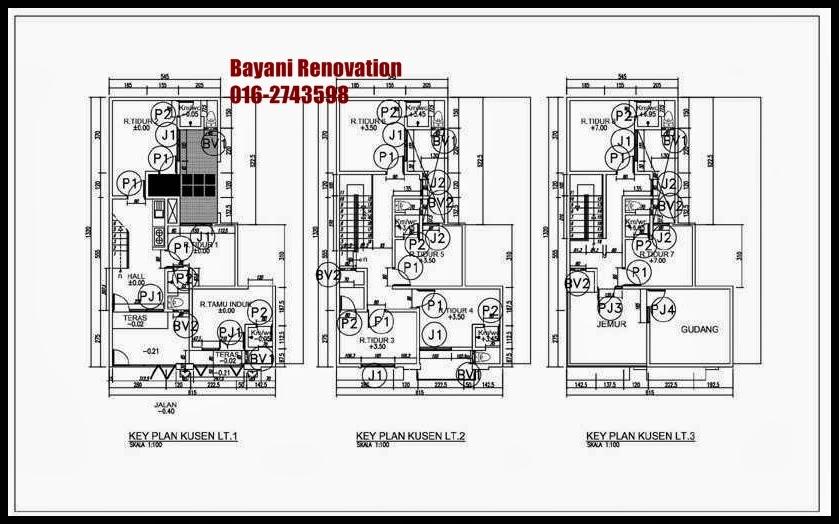 Plan Rumah Minimalis 3 Lantai
