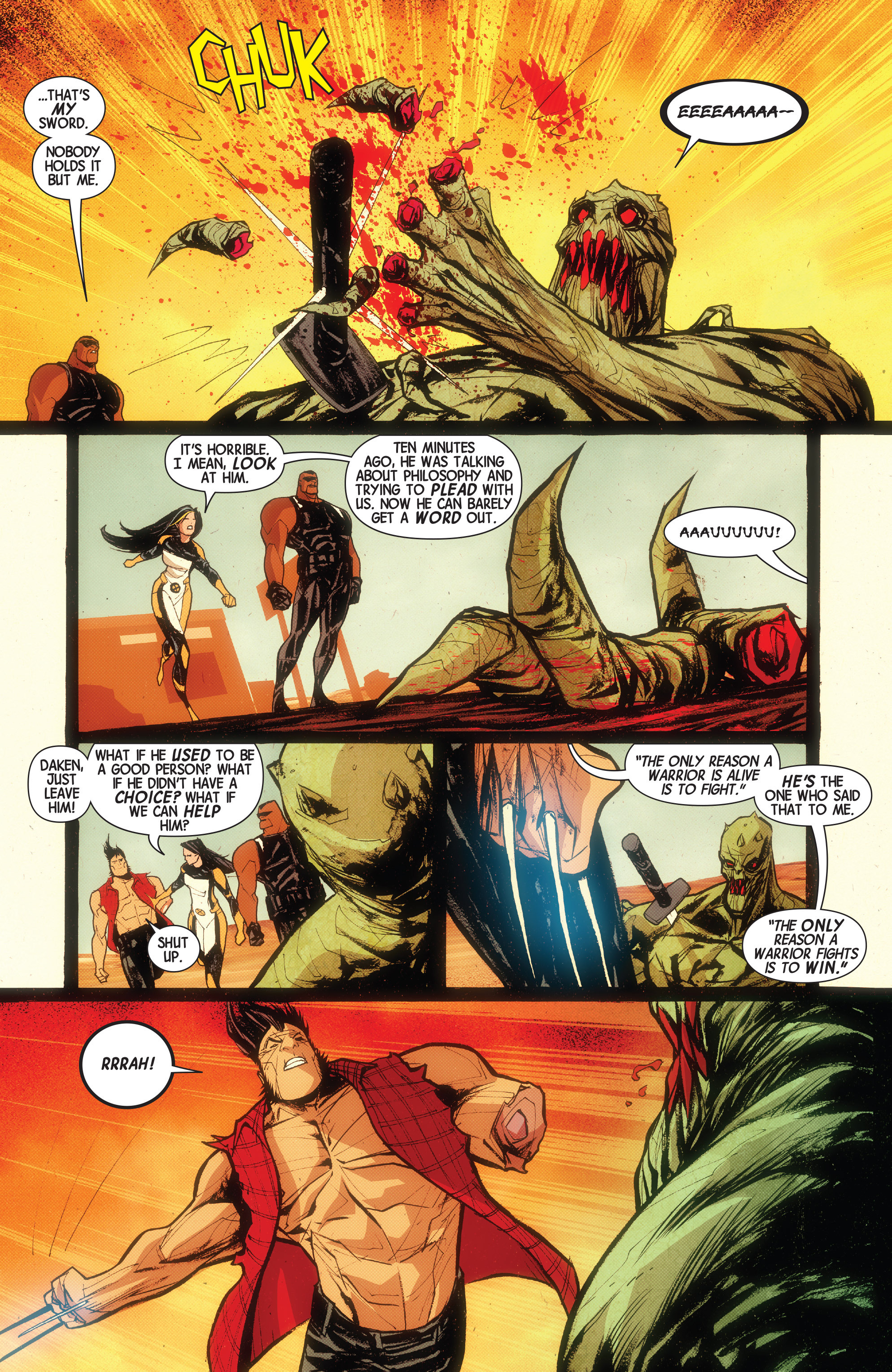 Read online Wolverines comic -  Issue #15 - 12