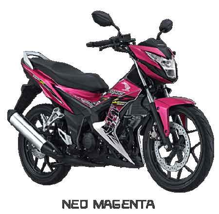Honda Sonic 150R Neo Magenta