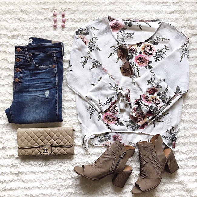 Spring Outfit #flatlay #springstyle