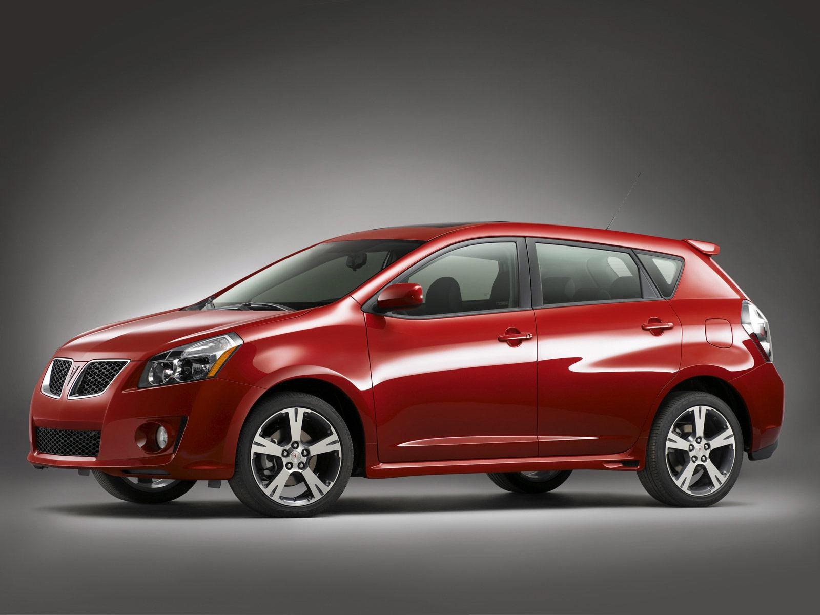 2009 Pontiac Vibe Car Desktop Wallpaper