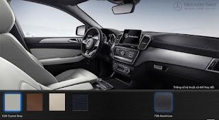 Nội thất Mercedes AMG GLE 43 4MATIC 2016 màu Xám Crystal 228