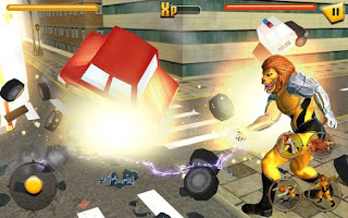 Scary Lion City Attack Apk - Free Download Android Game