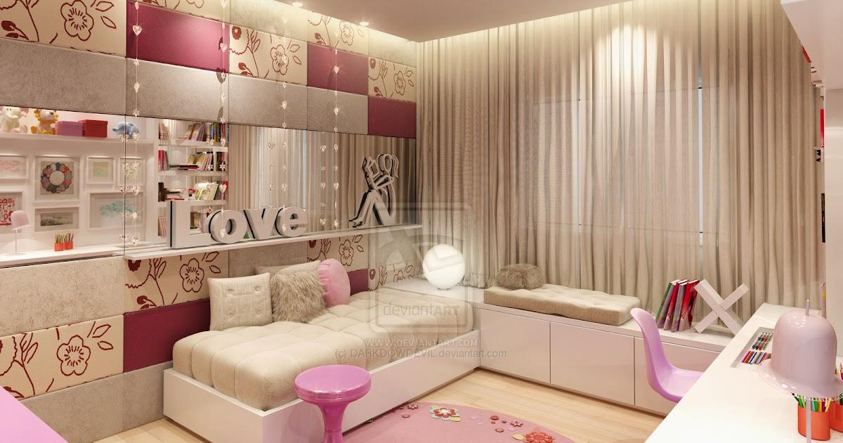 Girly Bedroom Decor - The Interior Designs