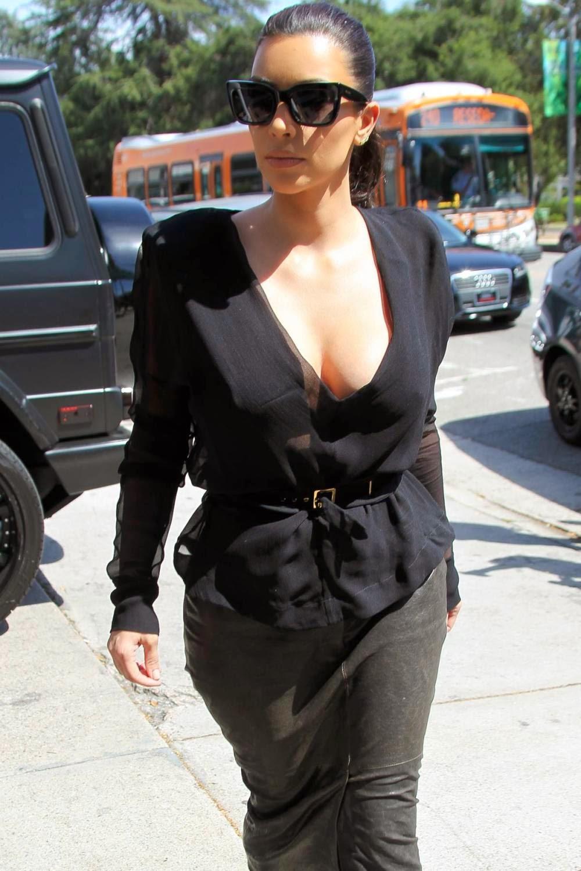 Kim Kardashian Cleavage Gallery