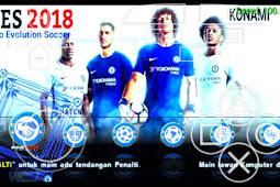 Special Mod Textures PES 2018 Jogress v3 Mod Chelsea Fc v1.0  By FachrulNA