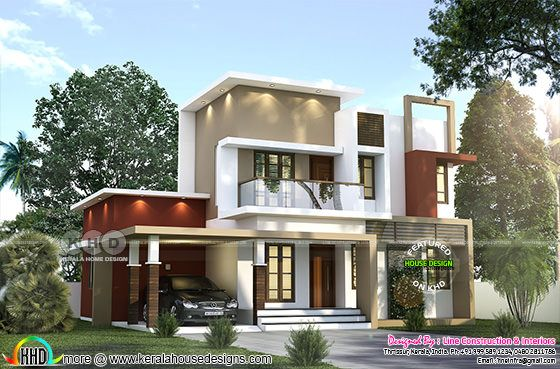 1507 sq-ft 3 bedroom contemporary house