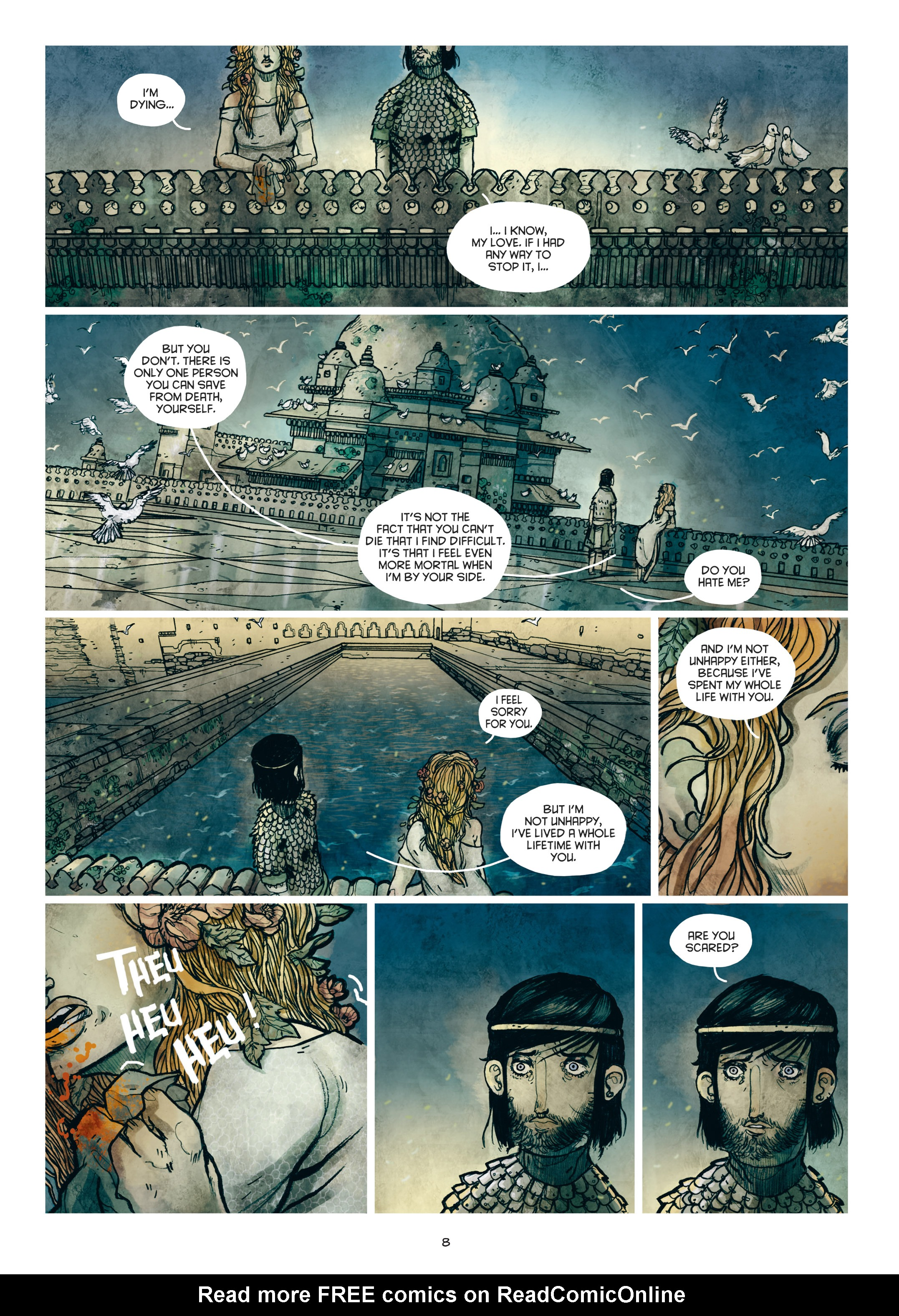 Read online Adrastée comic -  Issue #1 - 9