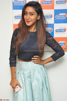 Shravya in skirt and tight top at Vana Villu Movie First Song launch at radio city 91.1 FM ~  Exclusive 163.JPG