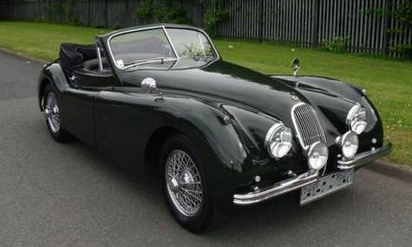 Jaguar XK120 SE Roadster Replica