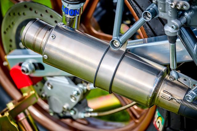 Yamaha SR500 By Mule Motorcycles Hell Kustom