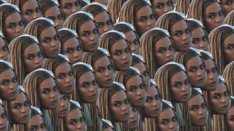"A primeira delas é ""Beyoncé"", obviamente."