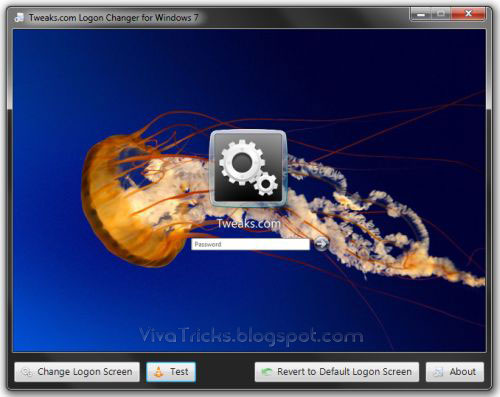 How to Change Windows 7 LognOn Screen Background