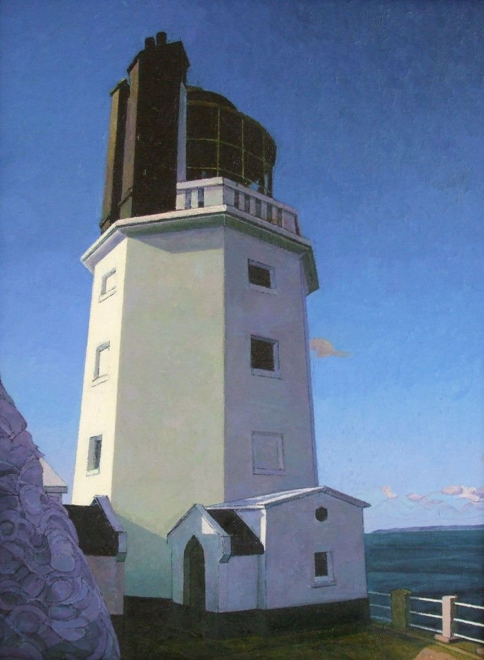 Британский фигуративный художник. David Watmough