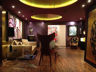 Diseño sala morada