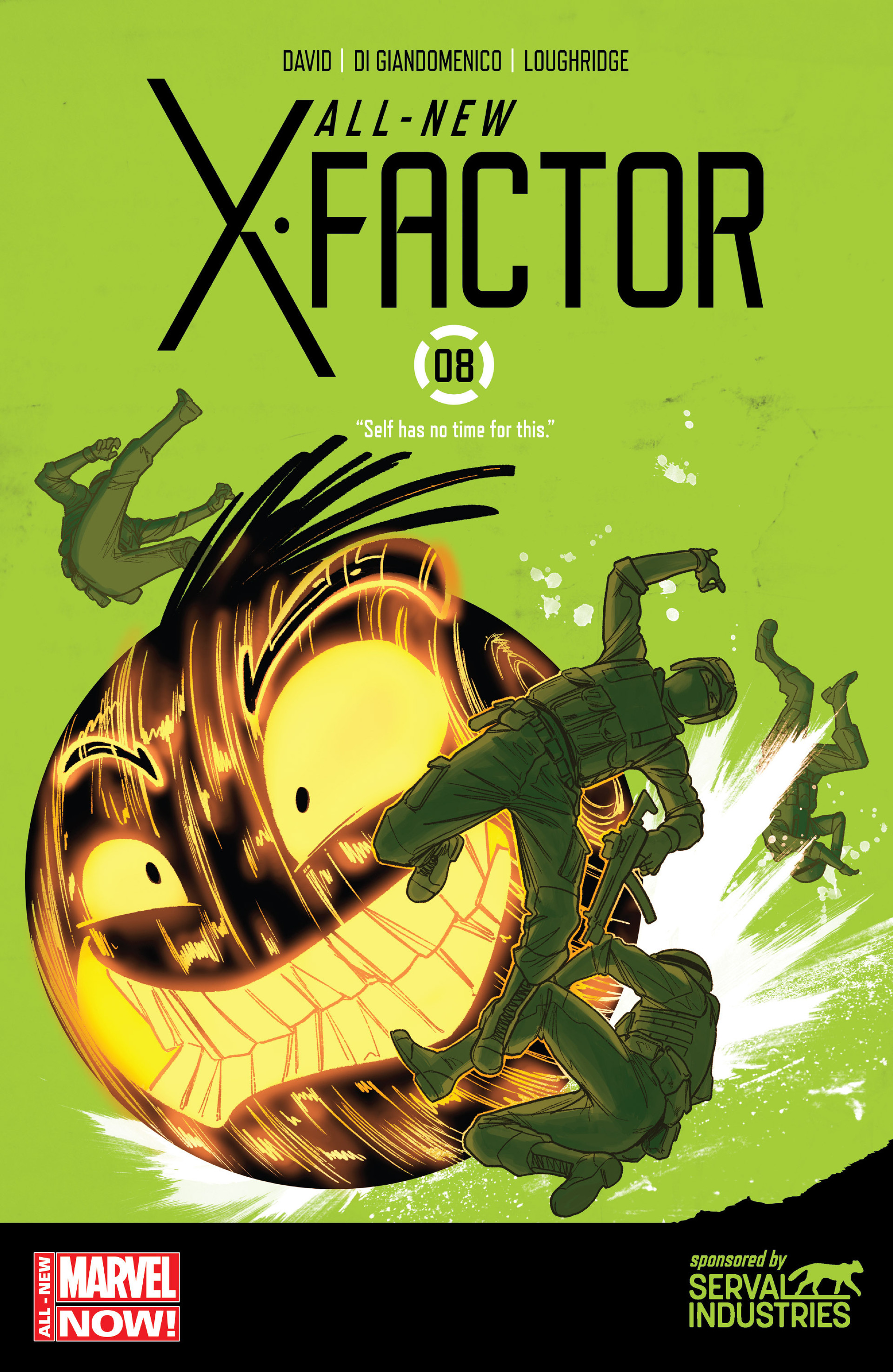 Read online All-New X-Factor comic -  Issue #8 - 1