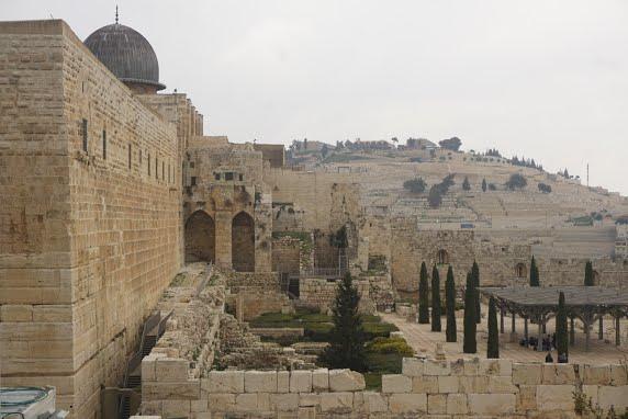 חומות העיר העתיקה בירושלים