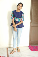 Eesha Looks super cute stunning in Denim Jeans and Top at Darsakudu movie Inerview ~  Exclusive 005.JPG