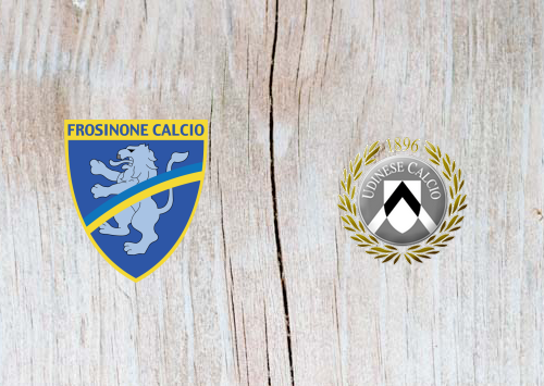 Frosinone vs Udinese - Highlights 12 May 2019