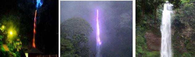 Keindahan Rainbow Waterfall  Wisata Alam Curug Cimahi