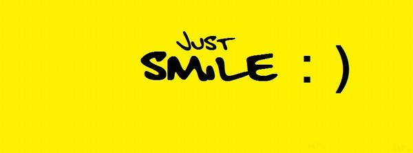 Just Smile Fb Cover