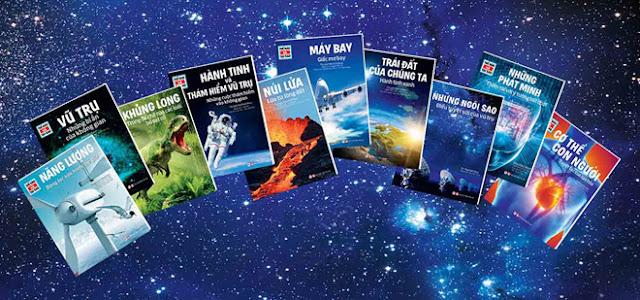 Bộ sách giúp thiếu nhi khám phá thế giới tự nhiên
